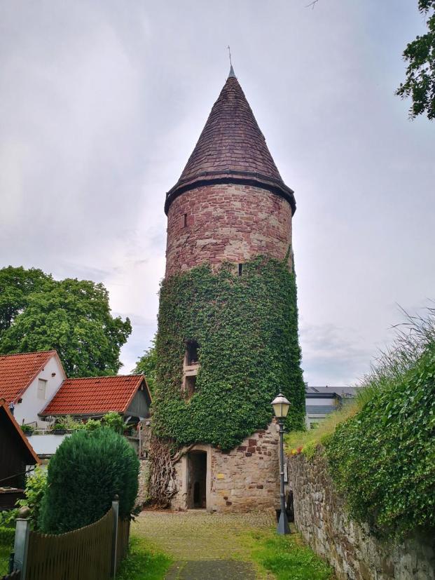 Historischer Wachturm an der Kleinen Emmer