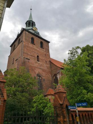 """Turm der """"Bachkirche"""" St. Michaelis"""