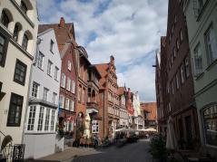 Gasse in der Lüneburger Altstadt