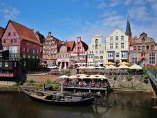 Stintmakt am Hafen von Lüneburg