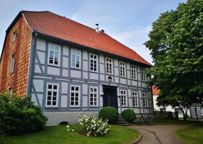 Pfarrhaus neben der St. Andreas-Kirche