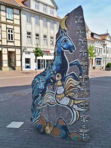 Kunst in der Fußgängerzone