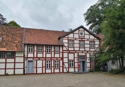 Das Heimatmuseum neben dem Schloss
