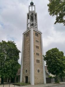 Glockenturm an der Kreuzkapelle St. Christophorus