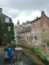 Die Vicht in der Altstadt von Stolberg