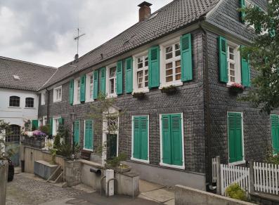 Typische regionale Architektur in Beyenburg