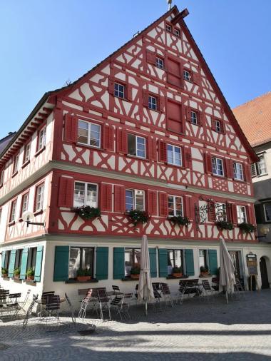 Fachwerkhaus gegenüber dem Rathaus