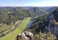 Blick von der Lenzenburg stromabwärts