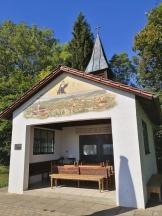 Auf dem Weg zur Burg Kemnat passieren wir eine Fatima-Kapelle