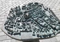 Bronzemodell der Alstadt