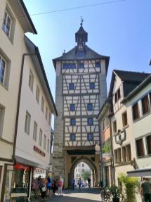 Das Schnetztor, von der Altstadt aus gesehen