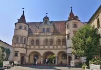 Innenhof des Rathauses