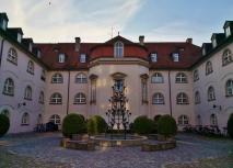 Blick in den Max-Hof, der früheren Max-Kaserne