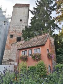 Das Hexenhäusle am Hexenturm