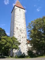 Der Spitalturm am Westrand der Altstadt