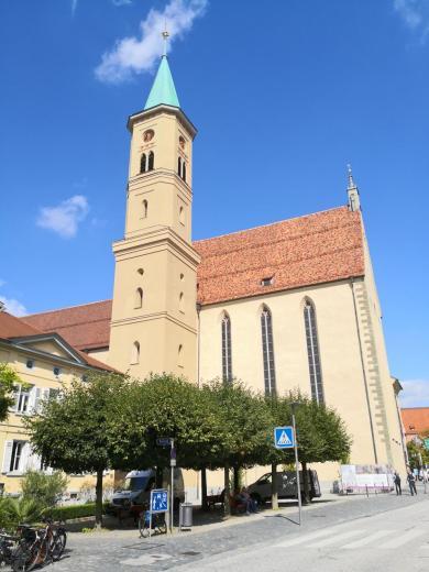 Die ev. Stadtkirche