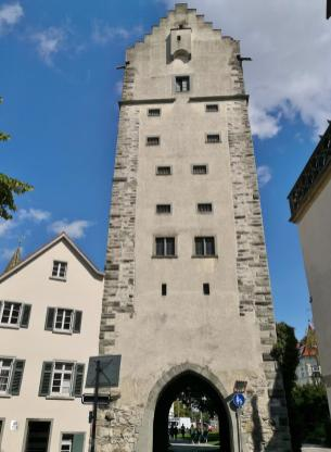Das Frauentor an der Liebfrauenkirche