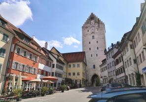 Das Obertor an der Marktstraße unterhalb der Veitsburg