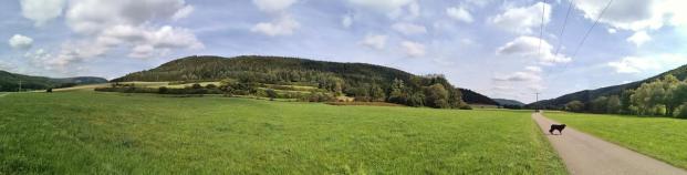 Panoramabild aus dem Eltatal
