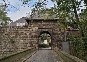 Aufgang zur Burg Dinslaken