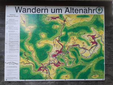 Wandertafel in Altenahr
