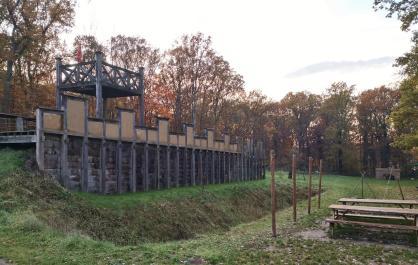 Blick in den Park im Römerbergwald Oberaden