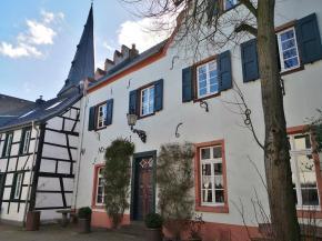 Hübsche Häuser aus dem 17. Jahrhundert prägen das Stadtbild