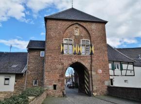 Das Agatha-Tor am Ortseingang
