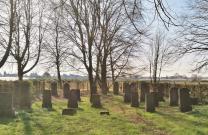 Der alte jüdische Friedhof bei Glehn