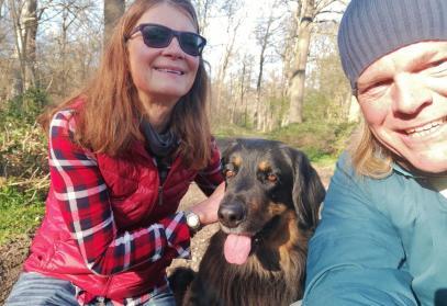 Gabi, Doxi und ich