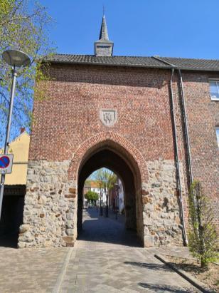 Das Roßtor - einziges erhaltenes historisches Stadtor