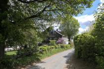 Hübscher Hof auf dem Wixberg