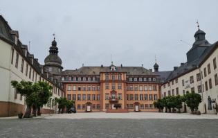 Blick in den Ehrenhof des Schlosses