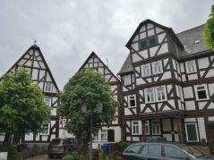 Historische Fachwerkhäuser am Kirchplatz