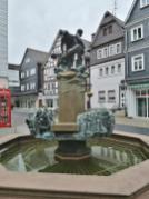 Brunnen auf der Königstraße