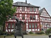 Fachwerkbauten in der Altstadt von Dillenburg