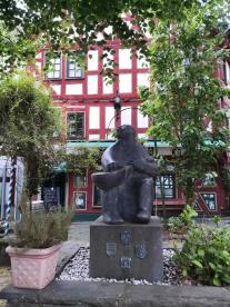 Skulptur in der Altstadt