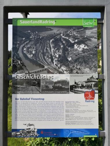 Die Entwicklung von Finnetrop ist eng mit der Eisenbahngeschichte des Ortes verbunden