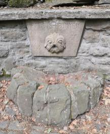 Ballotsbrunnen - leider trocken gefallen