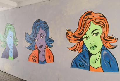 Streetart in der Alten Poststraße
