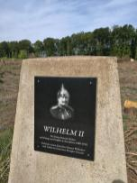 Erinnerung an Kaiser Wilhelm II