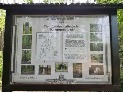Infotafel am Eingang zum Kammerbusch