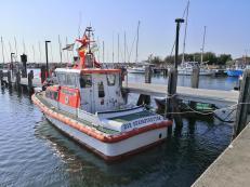 Boote im Hafen von Timmendorf