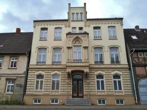 Haus an der Mühlenstraße gegenüber der Marienkirche