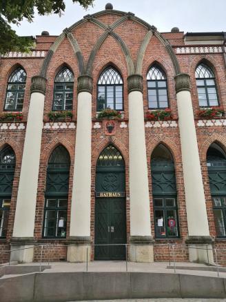 Portal des Rathauses