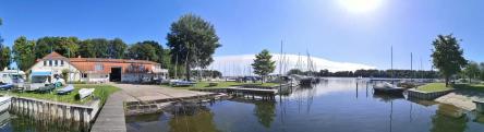 Panoramabild vom Seglerhafen