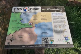 Dreigemeindeeck von Nettersheim, Dahlem und Hellenthal im Wald am Wisselbach