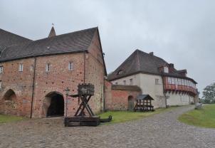 Zugang zur Hauptburg von der Vorburg aus gesehen