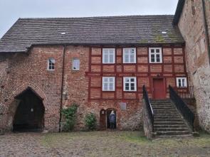 Zugang zur Hauptburg, vom Burghof aus gesehen