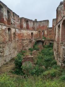 Ruine des Krummen Hauses